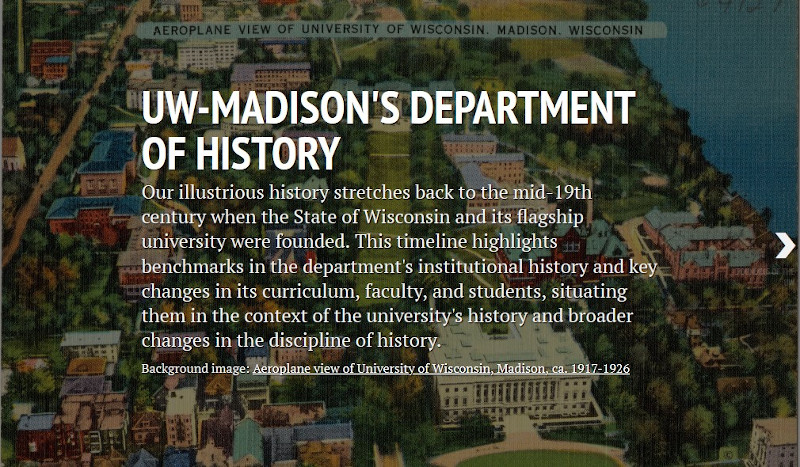 History of UW-Madison's History Dept.